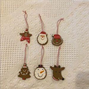 Hallmark Cookie Cutter Ornaments
